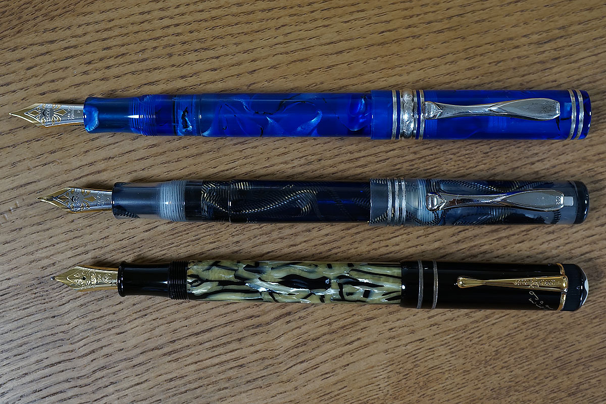 画像 万年筆の長さの比較