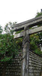 画像 品川神社の鳥居3
