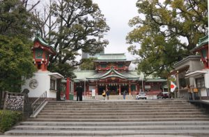 画像 富岡八幡宮の拝殿
