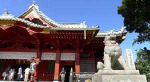 画像 神田神社の拝殿