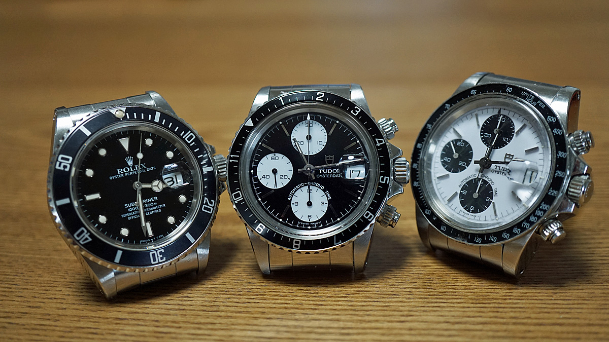 uk availability ae097 984c9 1990年代の機械式時計ブーム~チューダーのクロノタイムと ...