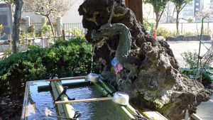 画像 白山神社の手水舎