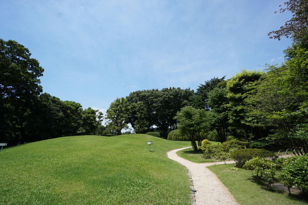 画像 迎賓館和風別館 「游心亭」(ゆうしんてい)庭の様子