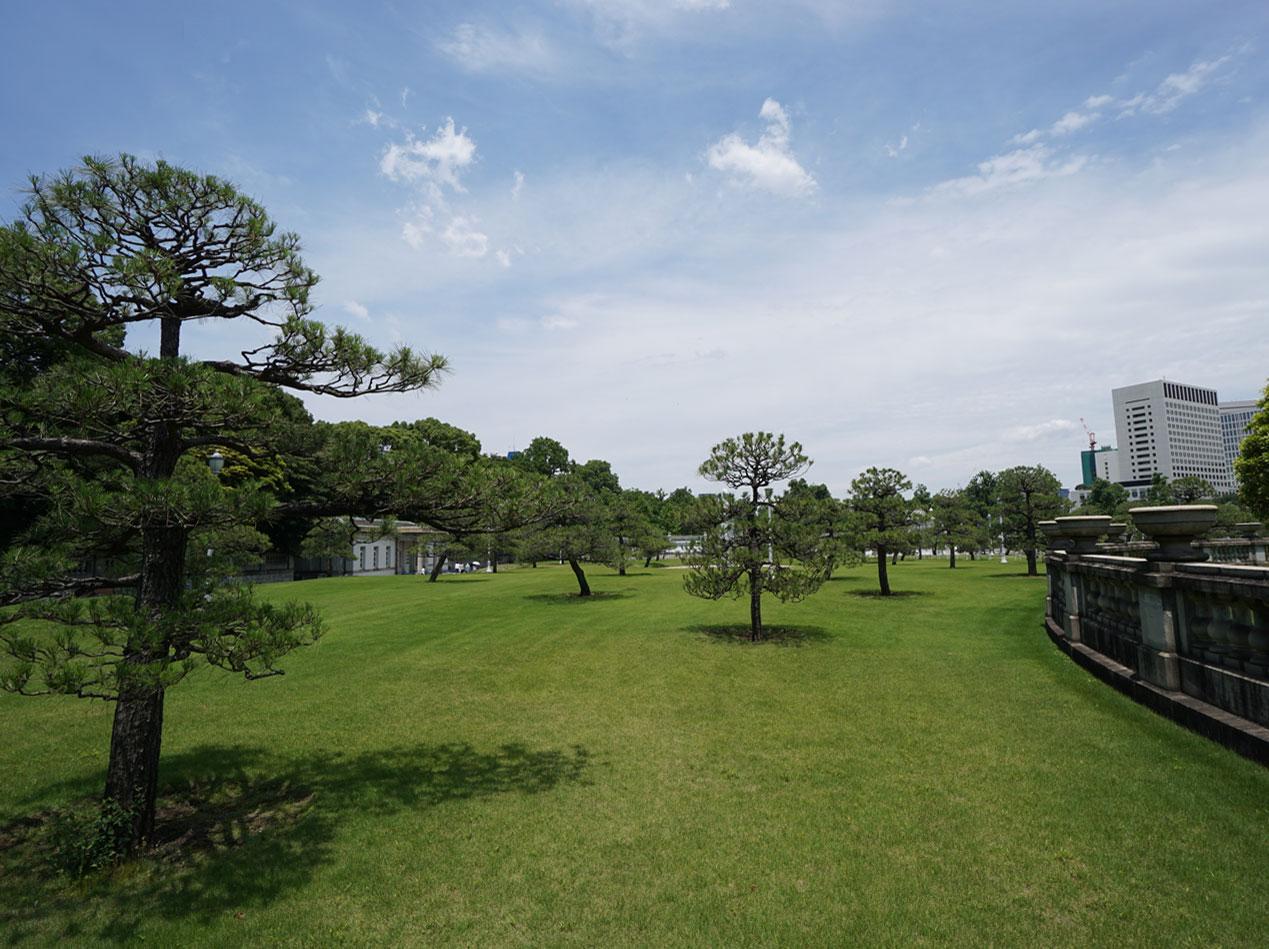 画像 迎賓館 前庭の風景