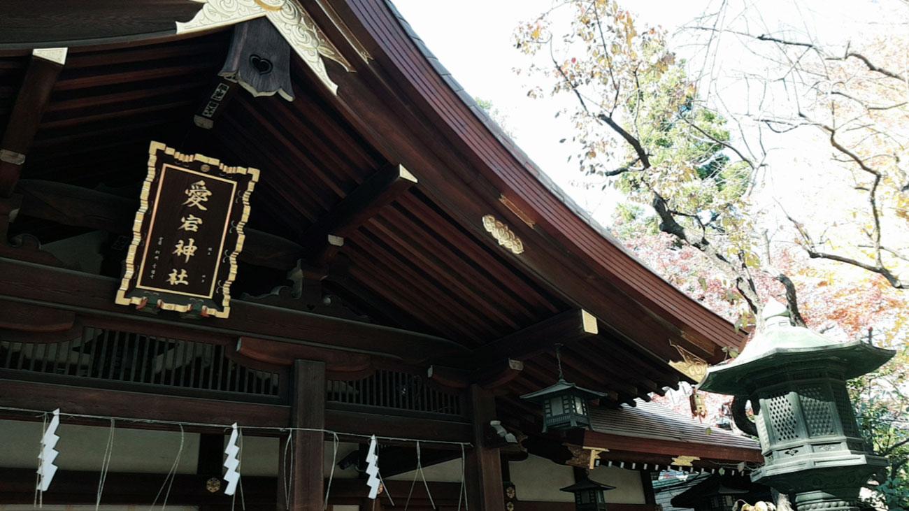 画像 愛宕神社の本殿
