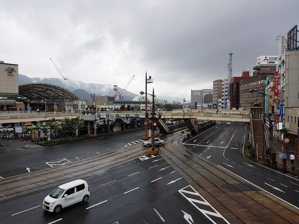 画像 長崎駅前のメインストリート